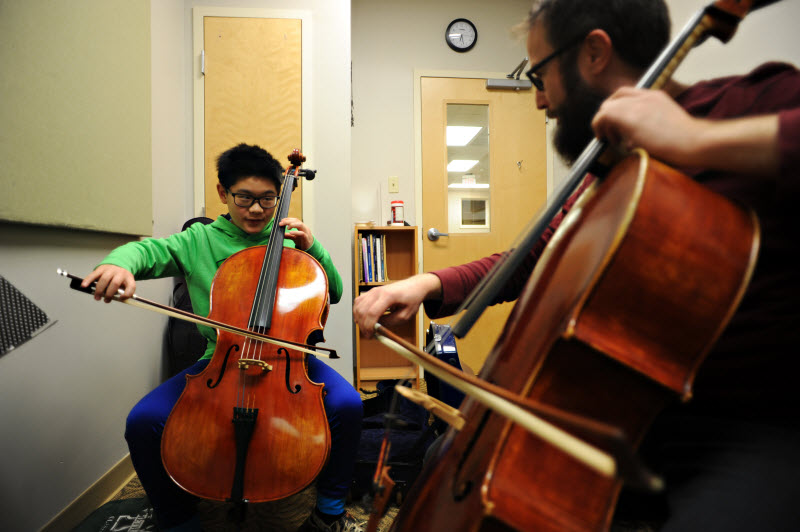 Youth Cello Lessons | Community Music School Collegeville