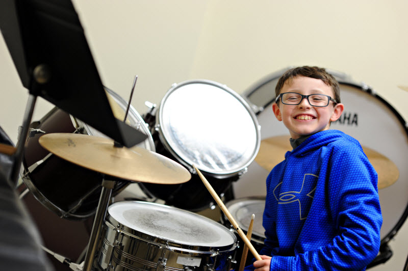 Youth Drum Lessons | Community Music School Collegeville