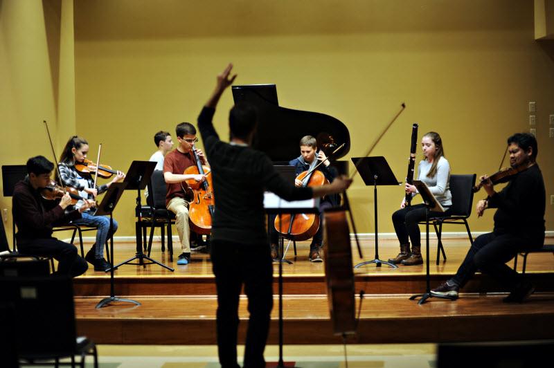 Group Music Rehearsal   Community Music School Collegeville
