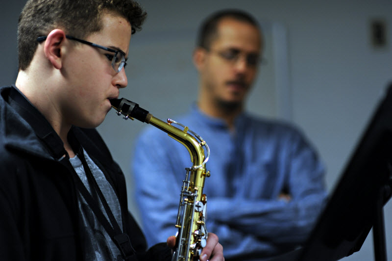 Youth Saxophone Lesson | Community Music School Collegeville