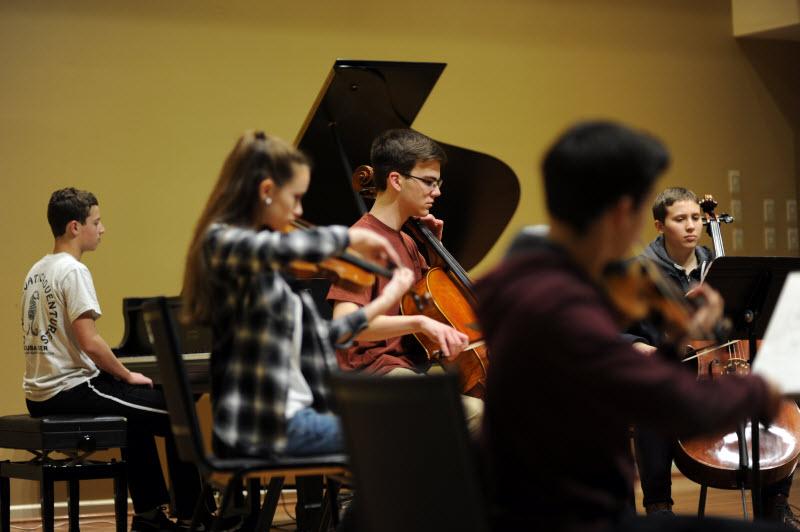 Group Music Lesson | Community Music School Collegeville