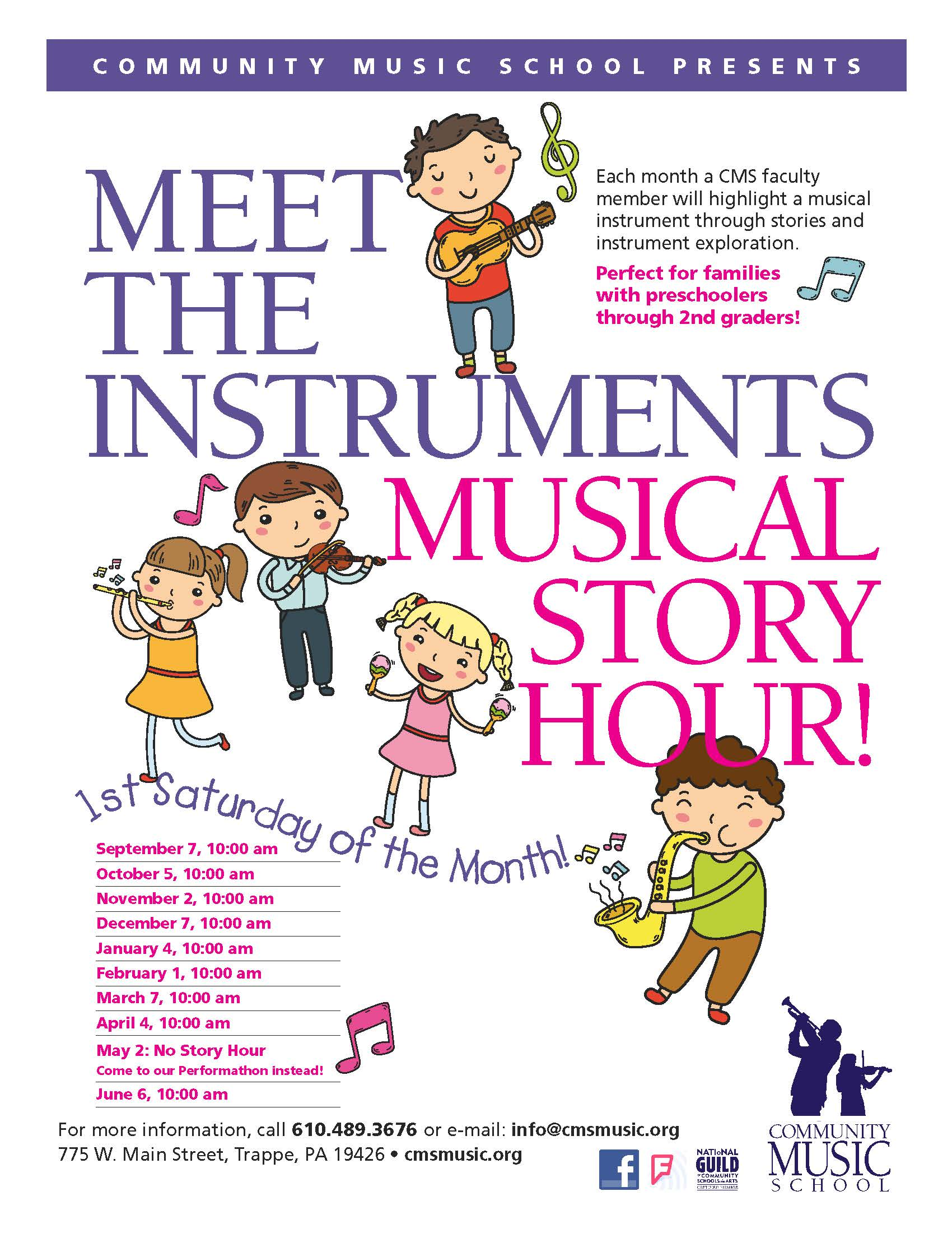 cms music school musical story hour
