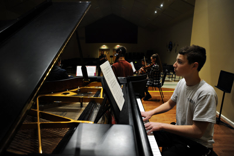 Piano Rehearsal | Community Music School Collegeville