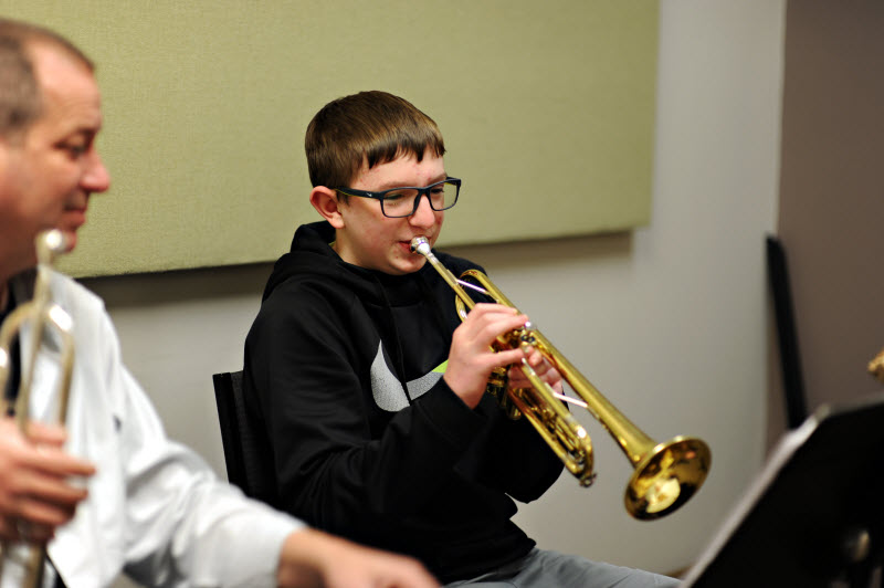 Trumpet Lesson | Community Music School Collegeville