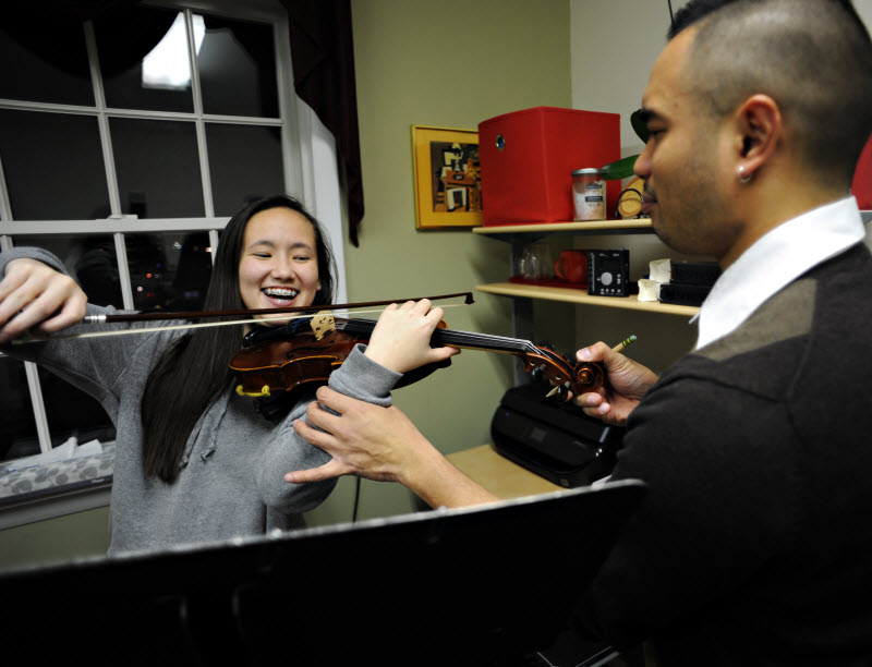 Violin Lesson | Community Music School Collegeville