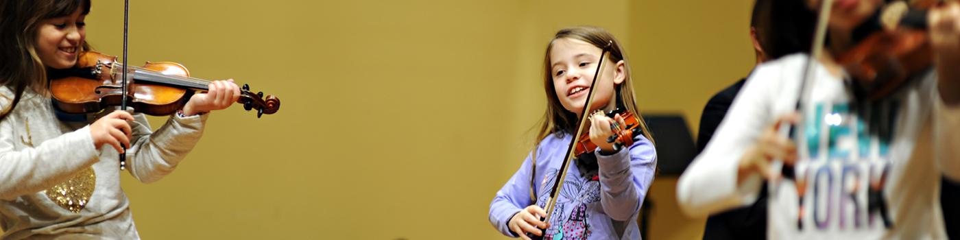 Violin Group Lesson | Community Music School Collegeville