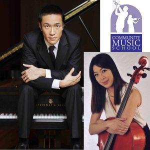 Dr. Eric Funq, piano with special guest Dr. Ai-Lin Hsieh, cello   Community Music School Collegeville