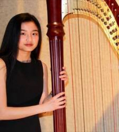 Harp Student | Community Music School Trappe