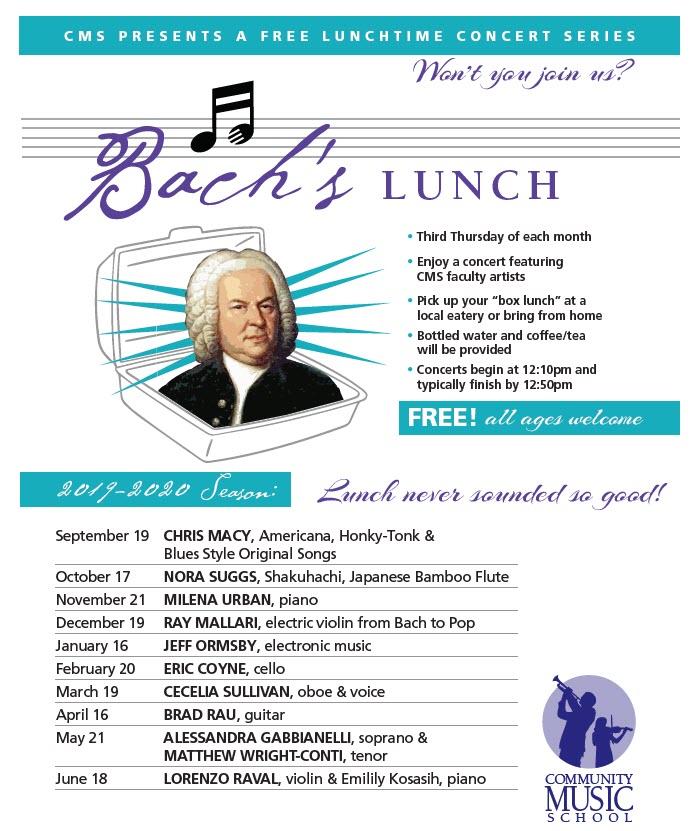 bach's lunch community music school
